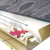 PVC Solid Gutter Cover